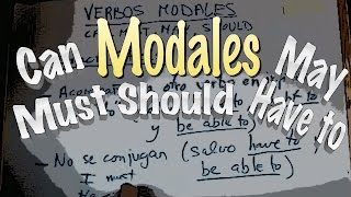 INGLÉS. 25- MODALES. Can, Could, Be Able To, Must, Have to, May, Etc.. Inglés para hispanohablantes