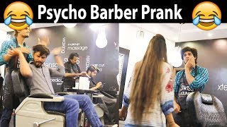 Psycho Barber Prank in Pakistan Haha very funny