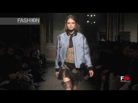 FRANCESCO SCOGNAMIGLIO Full Show Fall 2016 Milan Fashion Week by Fashion Channel