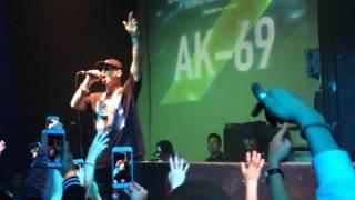 【フリースタイルダンジョン】AK-69/日本語ラップ 東京渋谷イベントライブ模様