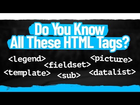 Download 5+ Must Know HTML Tags That Almost Nobody Knows
