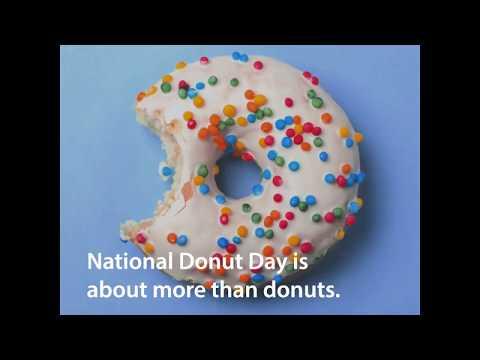 Snapchat donut designs delivered to veterans for #NationalDonutDay