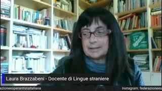 Intervista di Radio Canale Italia a Laura Brazzabeni, vicepresidente della Fei, sull'Esperanto.