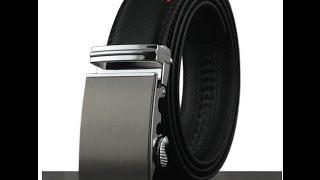 Кожаный ремень с Алиэкспресс/Обзор мужского ремня/ Men's leather belt