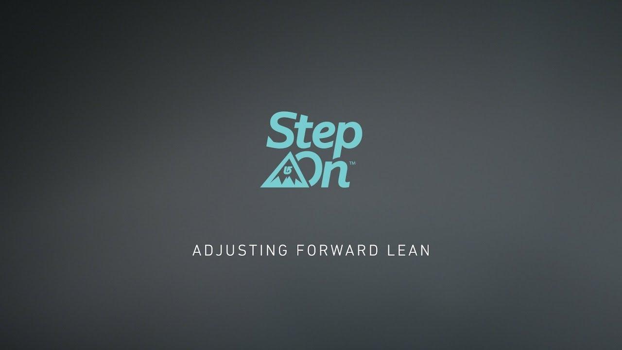 13c5392ccf7 Burton Step On™ Tutorial - Adjusting Forward Lean - YouTube