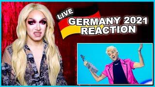 Germany | Eurovision 2021 Reaction | Jendrik - I Don't Feel Hate - LIVE