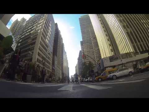 Broadway Bomb Race, NYC Skate 10/12/2013 GoPro HD