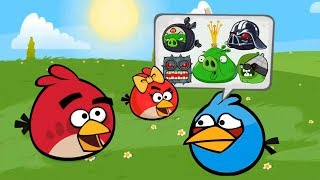 Angry Birds Animated All Bosses | Red Ball 4 + All Cutscenes (ORIGINAL 2019)