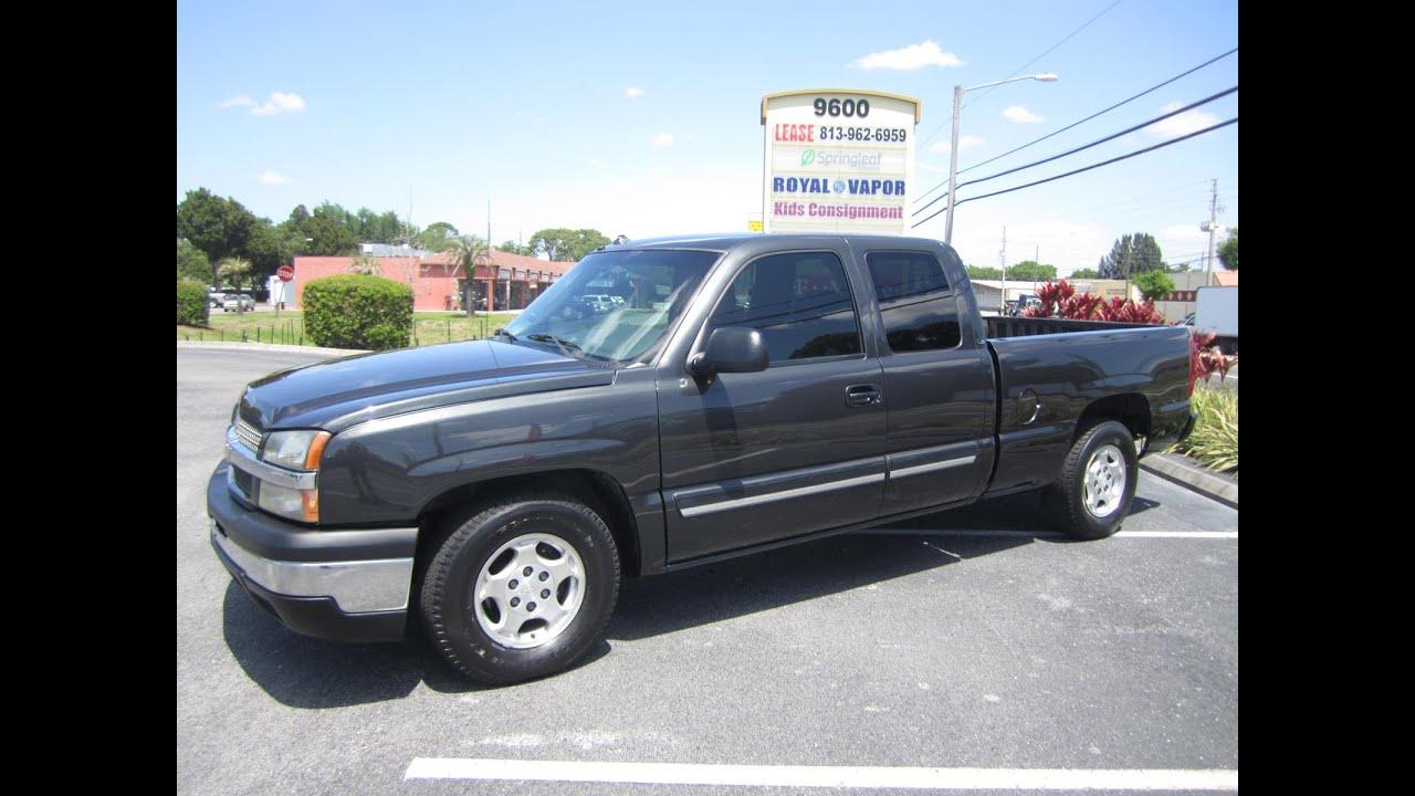 Sold 2003 Chevrolet Silverado 1500 Ls One Owner 85k Miles