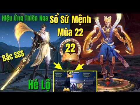 Sổ Sứ Mệnh Mùa 22 Thiên Nga - Siêu Phẩm Murad Chí Tôn Thần Kiếm, Nakroth Lôi Quang Sứ Bậc SSS Ra Mắt
