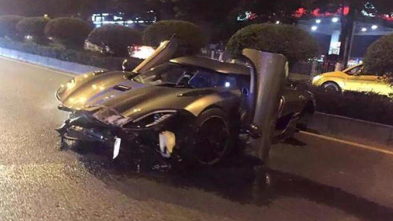 Latest Car Accident of Koenigsegg Agera R - Road - Crash ...