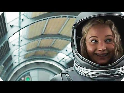 PASSENGERS Bloopers & Outtakes Gag Reel (2016) Jennifer Lawrence Chris Pratt Movie