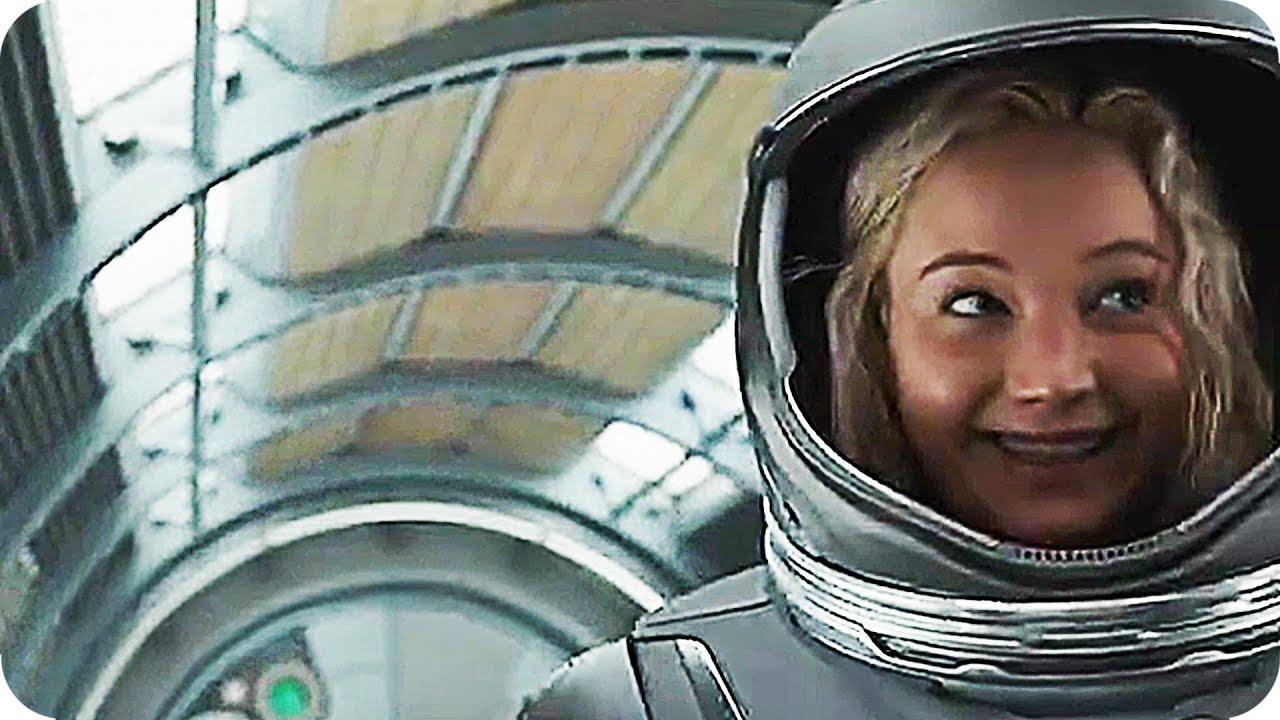 PASSENGERS Bloopers &a... Passengers Jennifer Lawrence Imdb