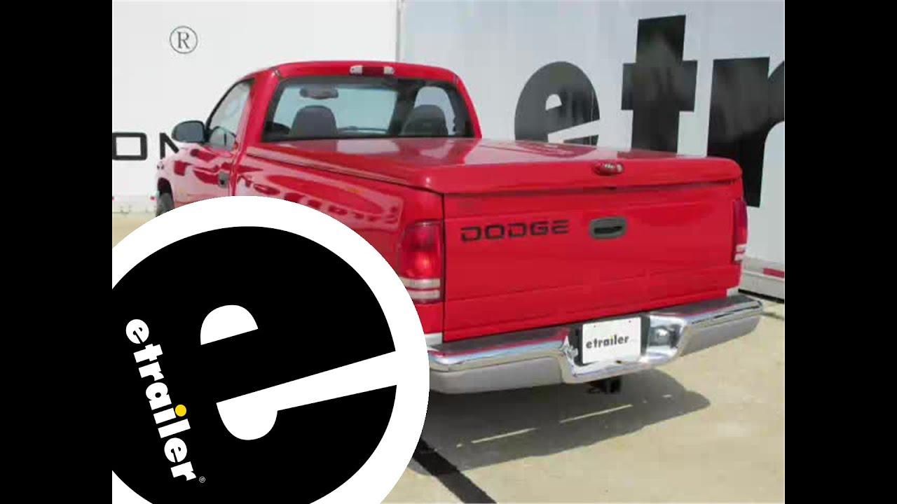hight resolution of trailer hitch installation 2001 dodge dakota curt etrailer com