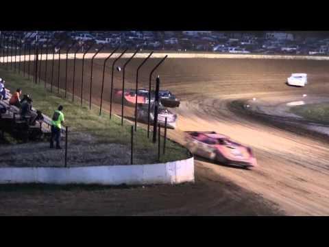 Late Model Heat #2 From Portsmouth Raceway Park, 8/31/13.