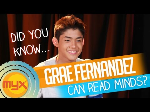 Grae Fernandez of Gimme 5 can read minds!