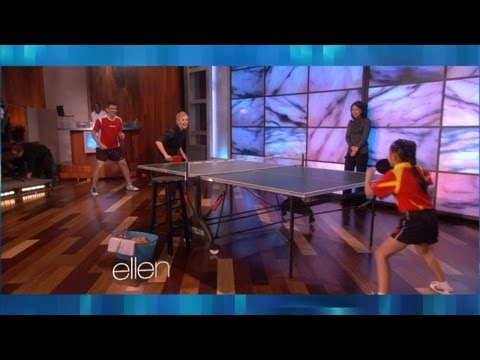 Download Memorable Moment: An Amazing Ping Pong Player Images