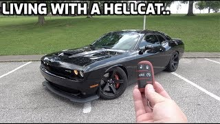 FORD GUY Drives A Dodge Challenger Hellcat For 2 Weeks...(Honest Review)