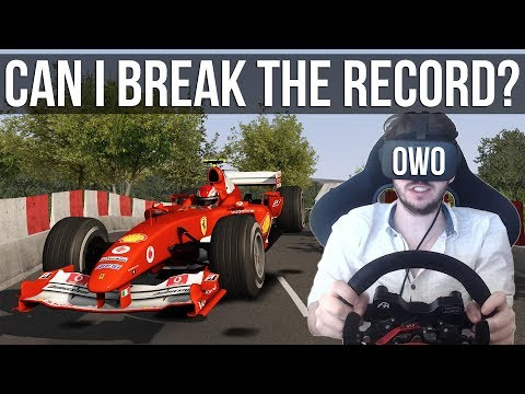 Can I Break The Isle Of Man Lap Record With A V10 Formula 1 Car?