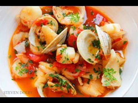 Fish Soup Recipe (Zuppa Di Pesce)