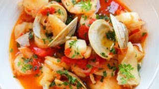 Fish Soup Recipe (zuppa Di Pesce)