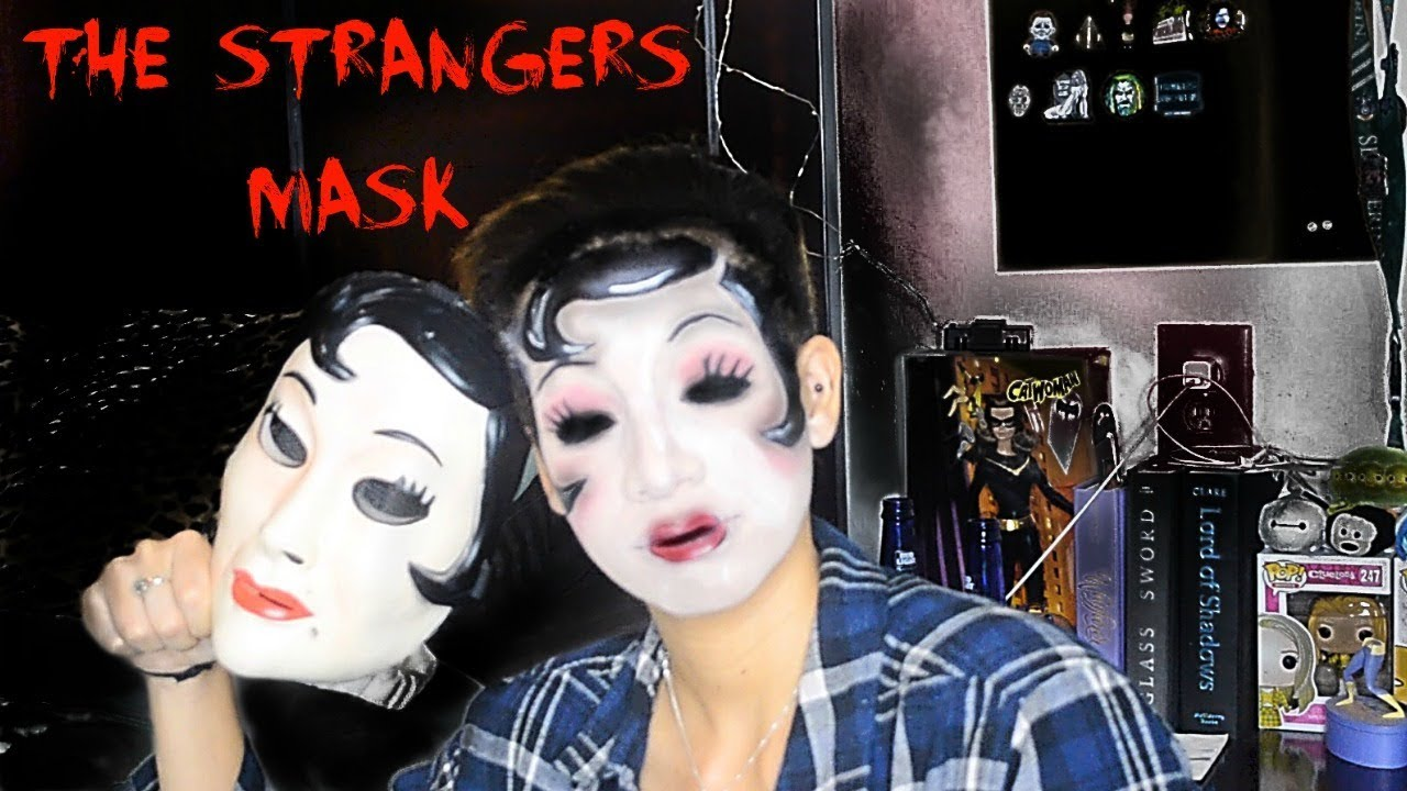 halloween makeup tutorial the strangers no mask needed