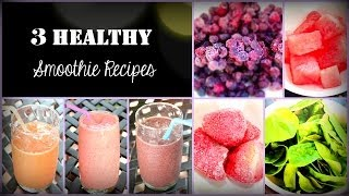 Fast and Healthy Smoothie Recipes Thumbnail