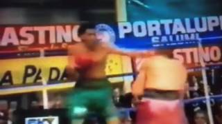 Troy Waters gives Gianfranco Rossi tough twelve rounds in Italy 1989