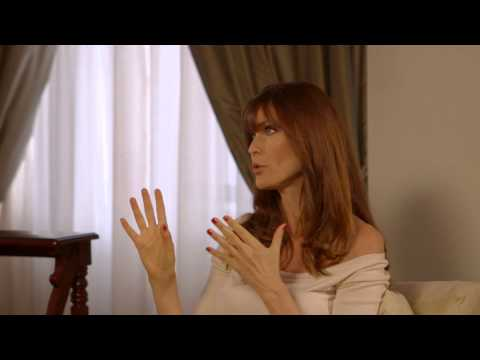 Model At Work: Carol Alt & Sandy Linter Discuss Gia Carangi.