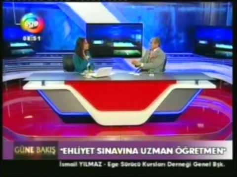 İSMAİL YILMAZ ''EGE TV'' SÜRÜCÜ EĞİTİMİ PROGRAMI 3. BÖLÜM