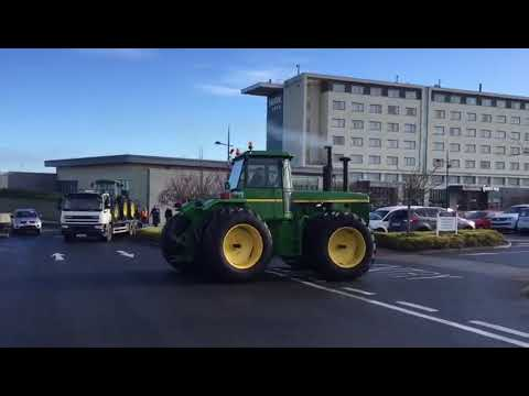 John Deere 8430 at the 2018 'Heritage' event (Ireland)