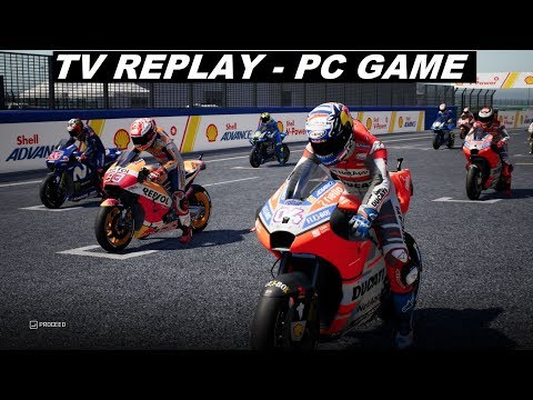 MotoGP 18 | MotoGP  | #MalaysianGP | TV REPLAY | PC GAME |