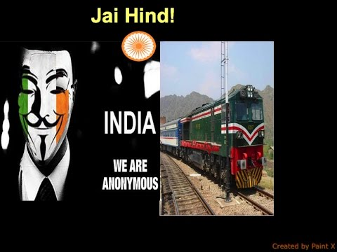 INDIAN HACKERS Completely DESTROYS PAKISTAN RAILWAY NETWORKS!!!