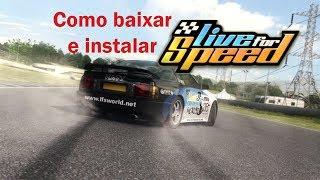 Como baixar e instalar o Live For Speed e desbloquear todos os carros e pistas.