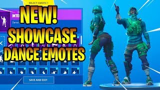 * NEU* REFLEX & INSTINCT SKINS SHOWCASE mit DANCE EMOTES! Fortnite Battle Royale