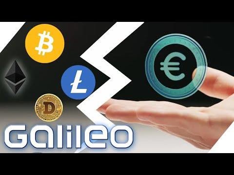 Besser als Bitcoin? - Der digitale Euro im Anmarsch | Galileo | ProSieben