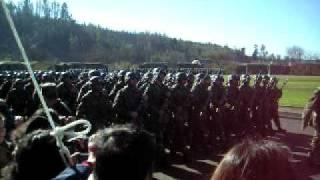 juramento a la bandera,reg.chacabuco,concepcion chile 2009