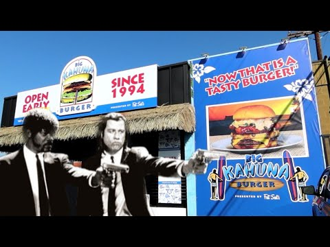 #1181 PULP FICTION Big KAHUNA BURGER - New LA Halloween Pop-Up Restaurant - Fat Sal's (10/31/19)
