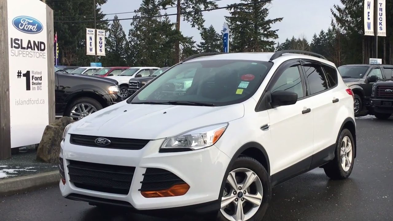 2015 ford escape s back up camera review island ford