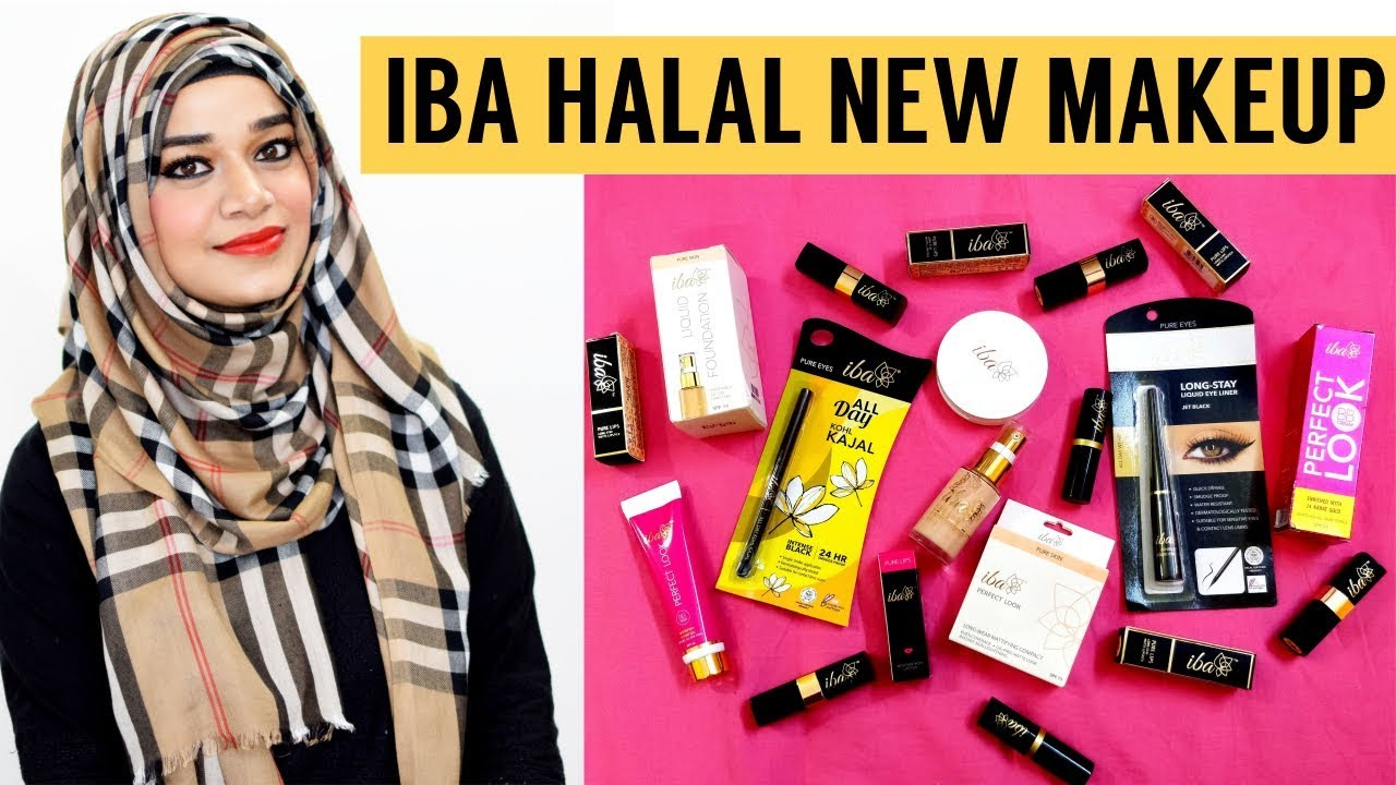 Everyday Makeup using IBA HALAL COSMETICS + NEW NUDE LIPSTICK SWATCHES |  Ramsha Sultan