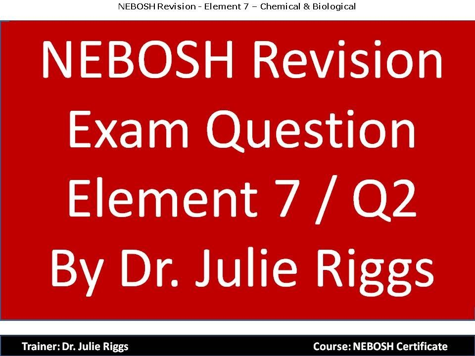 nebosh practical faq Igc3 is a practical exam conducted at the examinee's workplace employer benefits the national examination board in occupational safety and health or nebosh is an independent examining and awarding body that offers a wide-range of vocationally related.