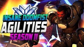 Agilities - Doomfist Main?! [ OVERWATCH SEASON 11 TOP 500 ]