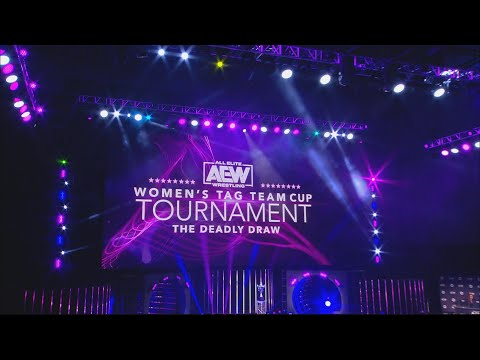 AEW Women's Tag Team Cup Tournament: The Deadly Draw Night 1 Quarter Finals   8/3/20