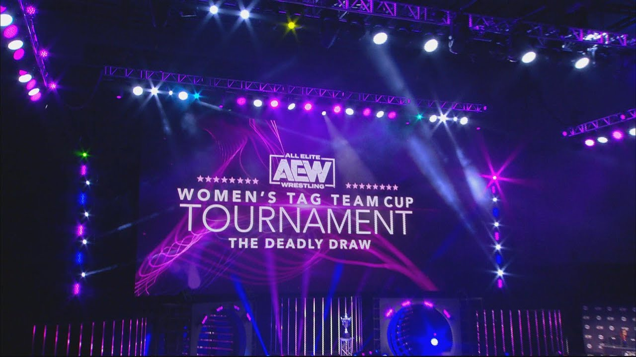 AEW Women's Tag Team Cup Tournament: The Deadly Draw Night 1 Quarter Finals | August 3, 2020