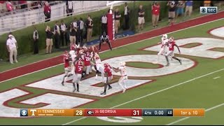 Tennessee Game Winning Hail Mary vs Georgia! HD | October 1, 2016