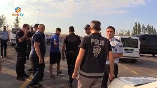 Yalçın Ayhan ile Malatyaspor otobüs şoförü arasında yaşanan kavga