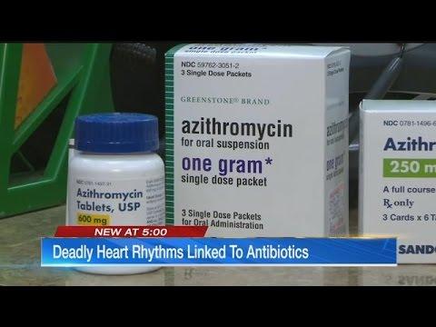 Deadly Heart Rhythms Linked To Azithromycin