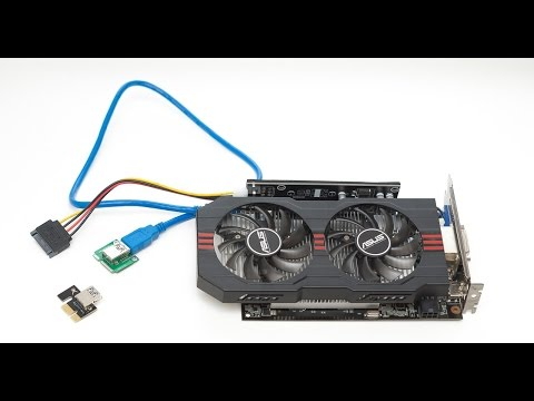 Переходник mini PCI-E to PCI-E X16 + Assassin`s Creed IV (не