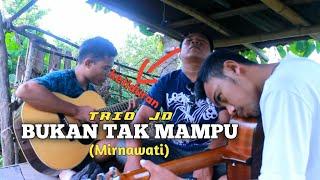 Lagi Nyanyi Ketiduran...⁉️ Bukan Tak Mampu (Mirnawati) Cover by Junior Dompu