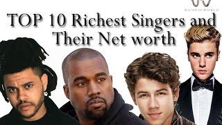 THE BILLIONAIRE LIFESTYLE 10 Most Popular Male Singers 2017